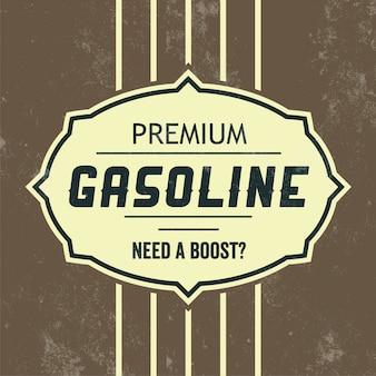 Signe de l'essence vintage