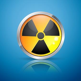 Signe de rayonnement nucléaire