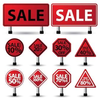 Signe de vente