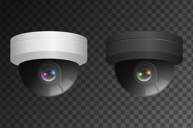 Signe de vidéosurveillance et de caméra