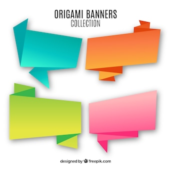 Signes d'origami