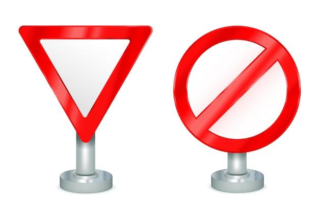 Signes de rendement et non autorisés