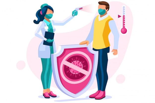 Signes et symptômes du virus corona