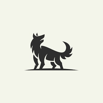 Silhouette du logo du renard