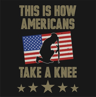 Silhouette noire du soldat américain assis