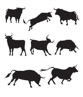 Silhouette de taureau