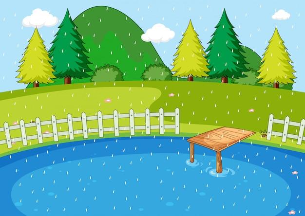 Une simple scène de nature