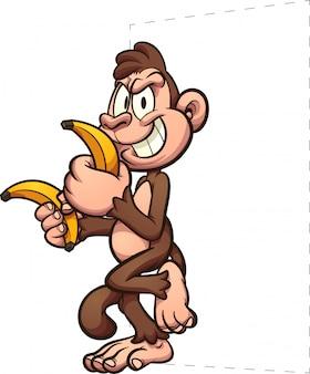 Singes bananes