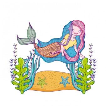 Sirène, natation, sous-marin