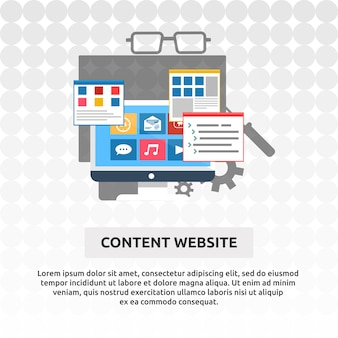 Site de contenu