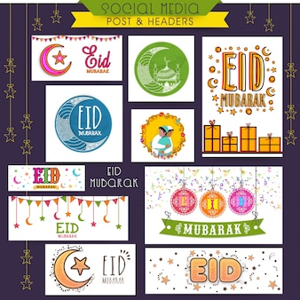 Site web banner promotion post social