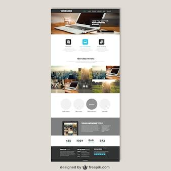 Site web de l'entreprise modèle