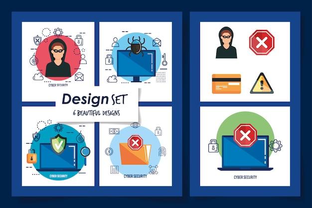 Six conceptions de la cybersécurité