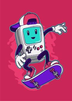 Skate gamer
