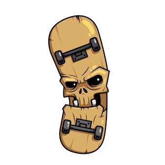 Skateboard, zombie