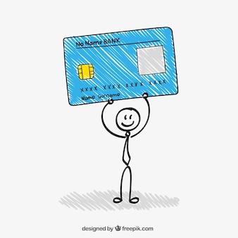 Sketchy carte de crédit