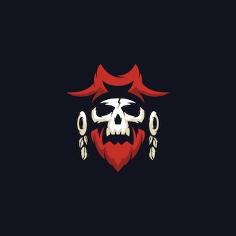 Skull pirates logo
