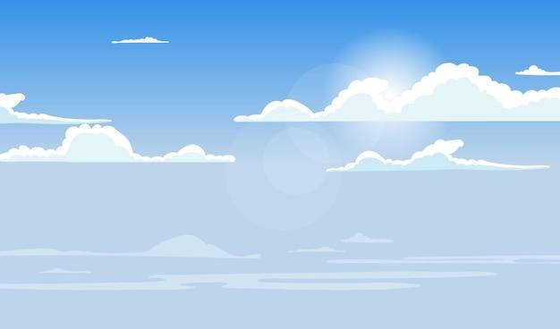 Sky - arrière-plan pour la vidéoconférence