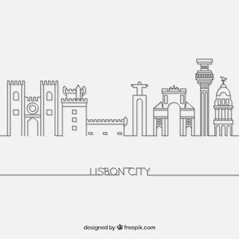 Skyline de lisbonne