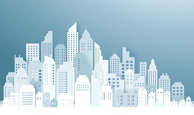 Skyline de la ville moderne