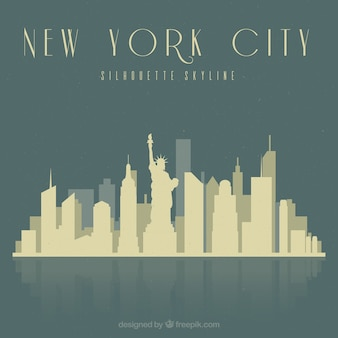 Skyline de la ville de new york
