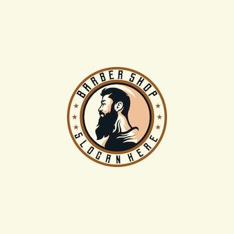Le slogan du logo du coiffeur ici