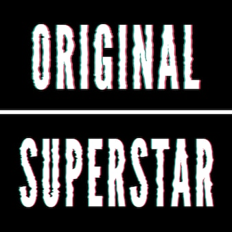 Slogan original de la superstar