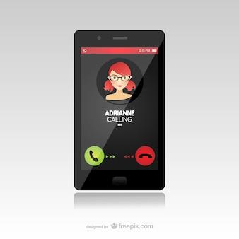 Smartphone appel