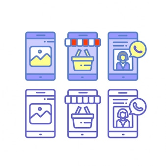 Smartphone boutique en ligne
