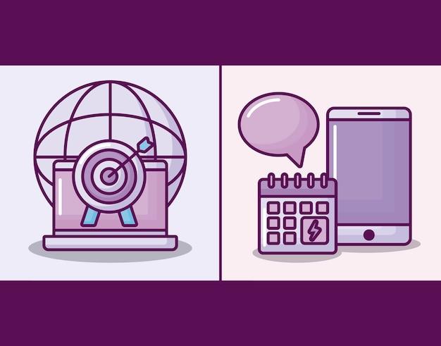 Smartphone avec commerce électronique