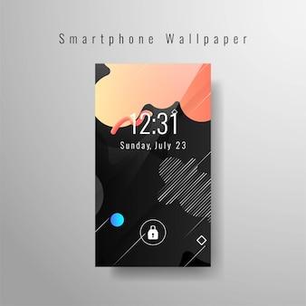 Smartphone fond d'écran à la mode