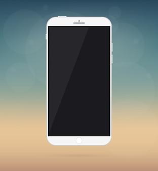 Smartphone, maquette d'appareil téléphonique.
