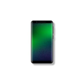 Smartphone mobile 3d réaliste.