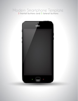 Smartphone moderne ultra réaliste
