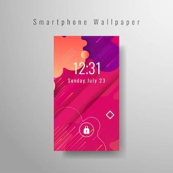 Smartphone papier peint décoratif à la mode