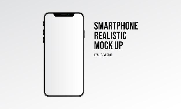 Smartphone réaliste maquette
