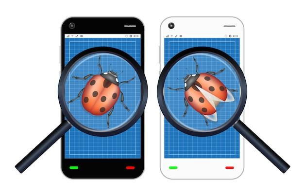 Smartphone a trouvé un bug