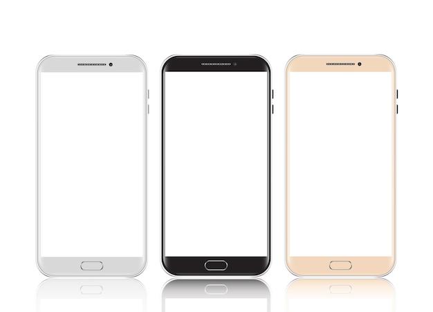 Smartphones noirs
