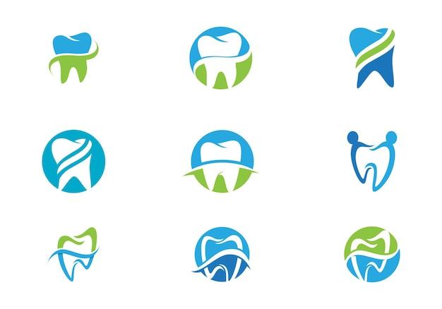 Smile dental logo template vector illustration icône design