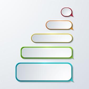Sms ou icônes de message.