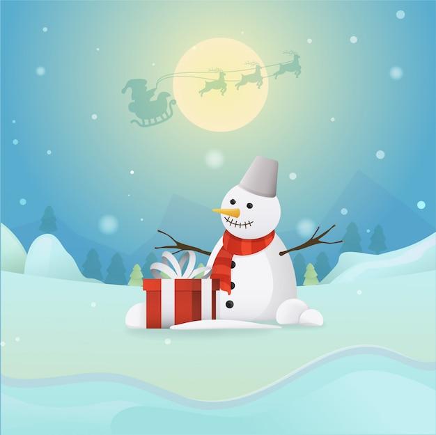 Snowman_winter