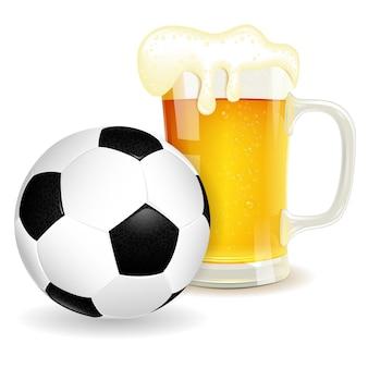 Soccer et bière