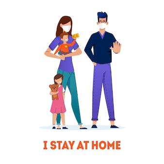 Social distancing quarantine, coronavirus, sauvez votre vie.