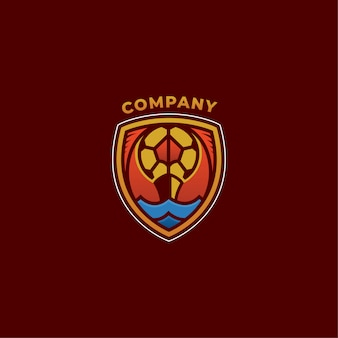 Société de logo de football