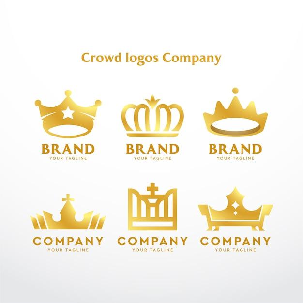 Société de logos de la couronne