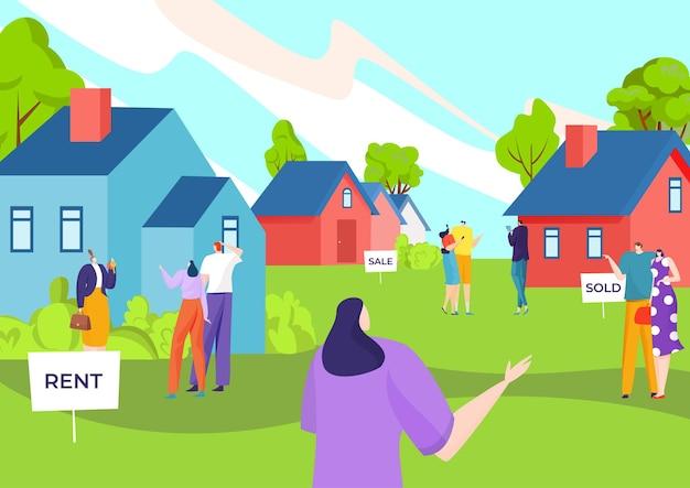 Société de vente et d'achat immobilier
