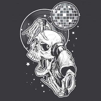 Soirée skull rock