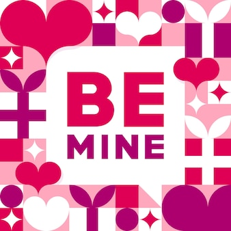 Sois à moi. saint valentin romantique