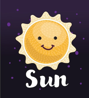 Soleil drôle