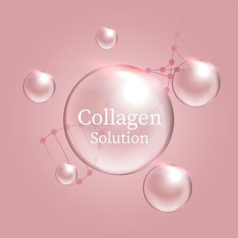 Solution de collagène